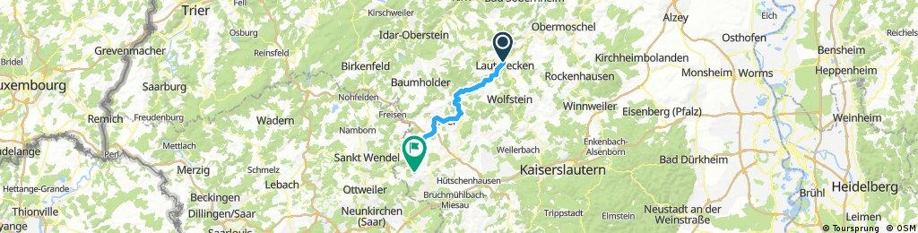 Meisenheim mit Ro-Handy-GPS
