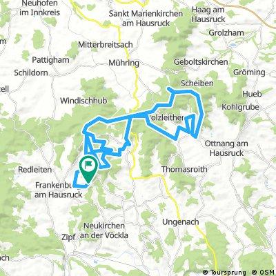 Göblberg Widhackerkreuz Runde