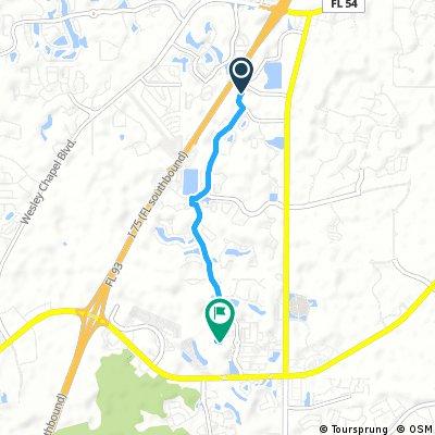 Short ride through Wesley Chapel