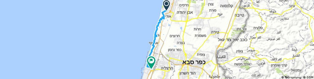 Stupid trip from Natanya through Herzliya
