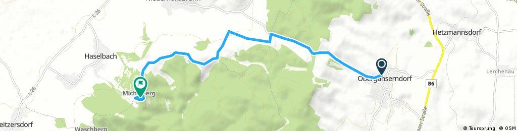 Kurze Radrunde durch Gemeinde Niederhollabrunn