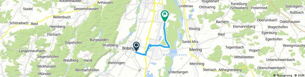 Radrunde durch Augsburg