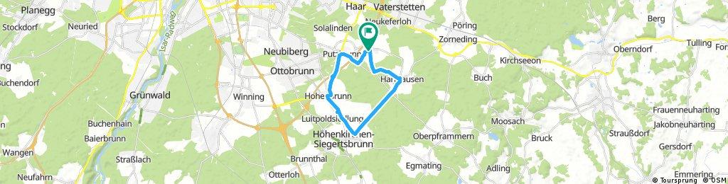 bike tour through Grasbrunn