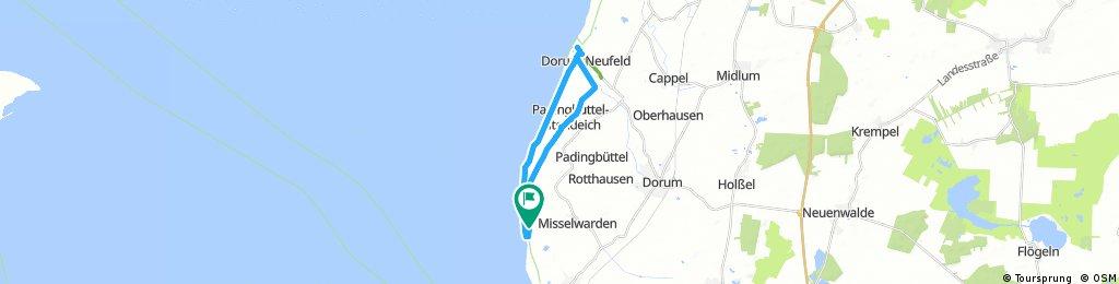 von Schmarren nach Dorum-Neufeld