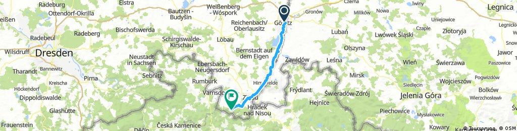 Görlitz nach Jonsdorf