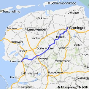 Lemmer Nl 2017 nl lemmer vilsteren 78 km bikemap your bike routes