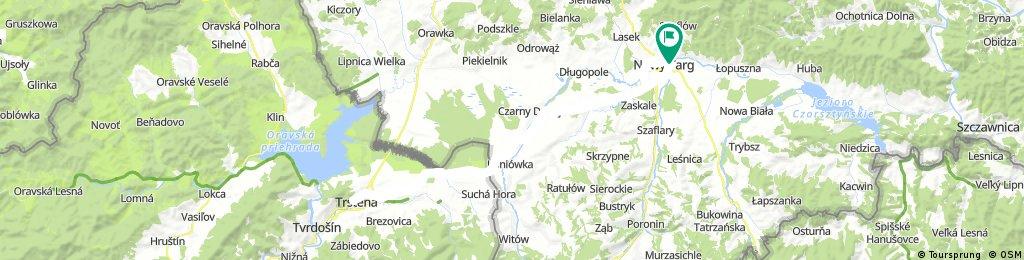Nowy Targ - Trstena - Nowy Targ