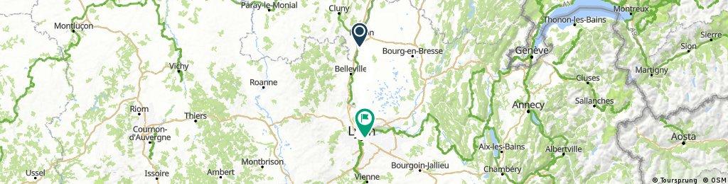 Mâcon - Lyon - Vienne