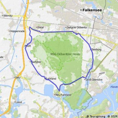 Rundfahrt Döberitzer Heide