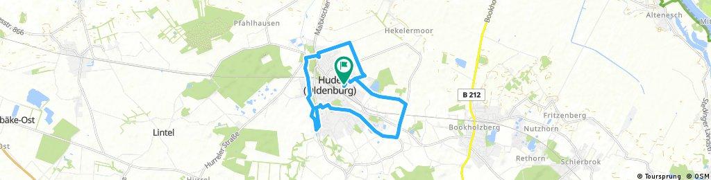 Ausfahrt durch Hude (Oldenburg)1