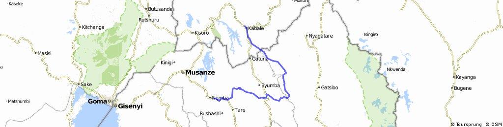 Uganda-Ruanda Etappe 10 (Kabale-Nyarutavu)
