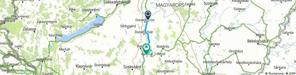 Szalkszentmarton - Kalocsa