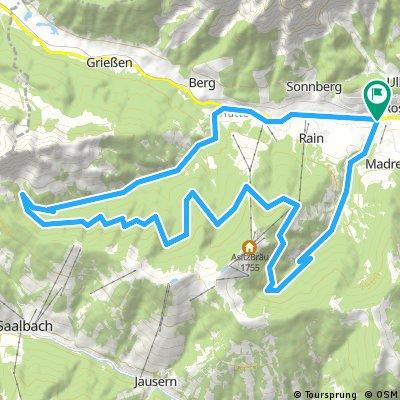 33 km Schwarzleo - Schwarzbach-Runde