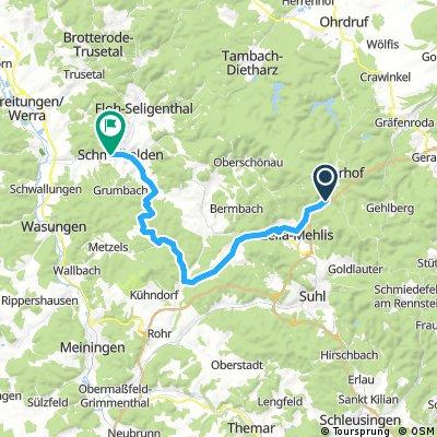 Oberhof - Schmalkalden
