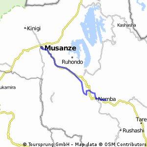 Uganda-Ruanda  Etappe 11 (Nyarutavu-Ruhengeri)