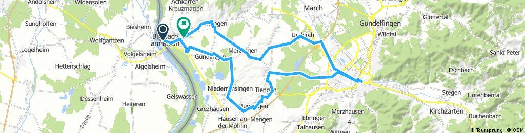 D - Breisach - Freiburg und zurück