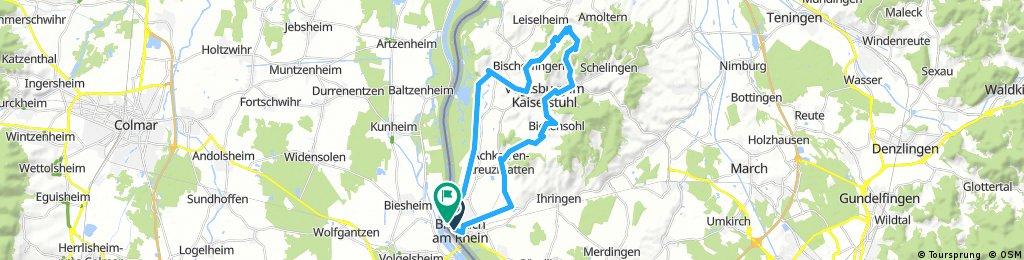 D - Breisach durch die Weinberge Rundtour
