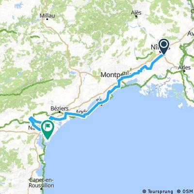 Vuelta 2017-2   Nîmes - Gruissan