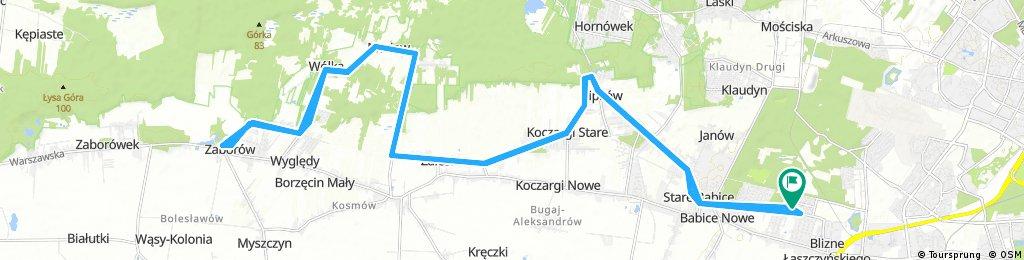 Long ride through Warsaw1