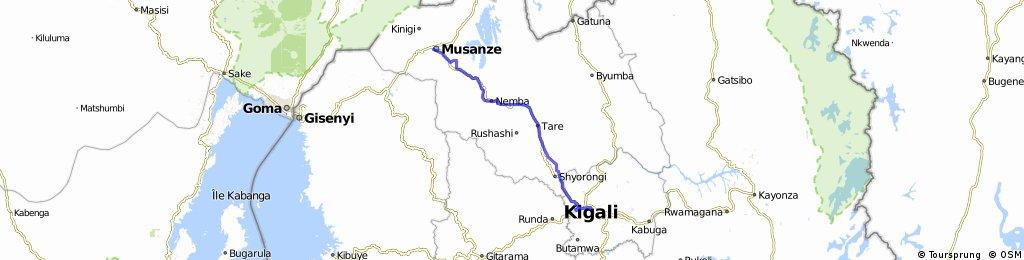 Uganda-Ruanda Etappe 12 (Ruhengeri-Kigali)