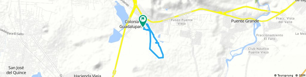 Short bike tour through Puente Grande
