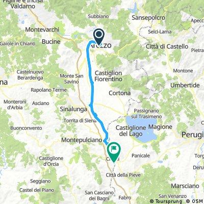 Arezzo - Chiusi