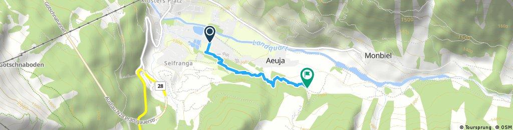 Wanderung auf dem Zwergenweg Klosters