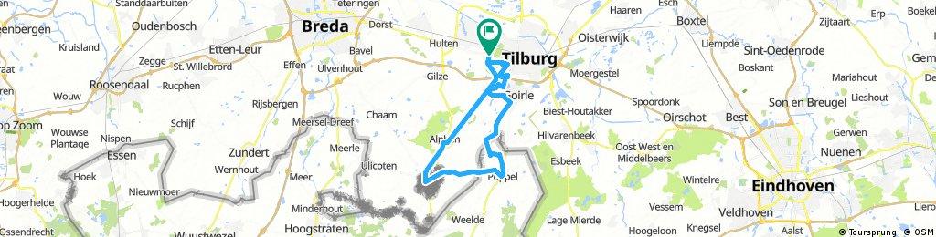 48 km Trekking Bels lijntje