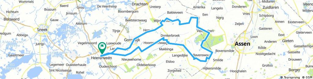 20170816_Heerenveen Appelscha Haulerwijk Heerenveen