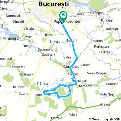 Bucuresti - Comana Extra
