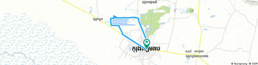 West Baray Cycle Circuit, Siem Reap