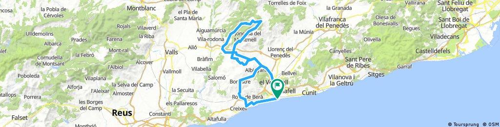 20170817 Sant Salvador-Bonastre-Albinyana-Masarbonès-Masllorenç-Coll de l'Arca-Can Ferrer-Sant Salvador 2