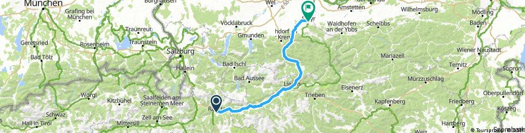 170826 Enn - Steyr Radweg