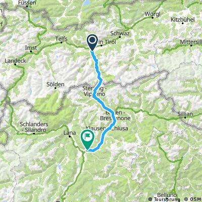 Rosenheim - Gardasee (Etappe 2)