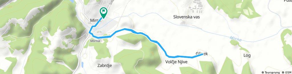 Short ride through Mirna