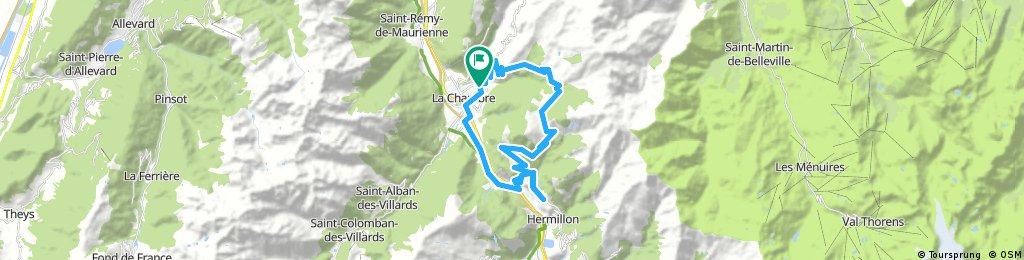 2017-07-31 / Col du Chaussy par les Lacets de Montvernier + Col du Ventour en AR
