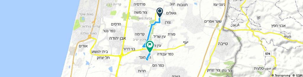Kadima to Tel Mond