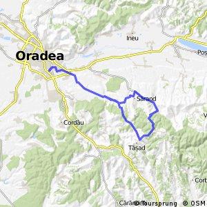 Long ride through Oradea Bikemap Your bike routes