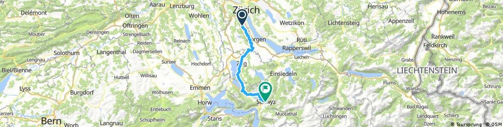 Adliswil - Schwyz