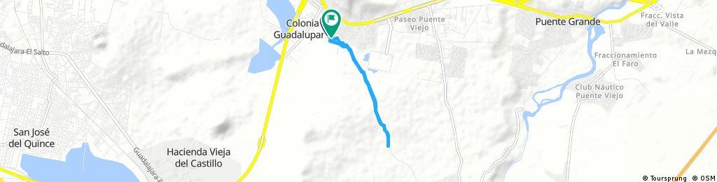 Quick bike tour from 18 de agosto 8:02 AM