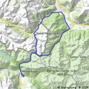 Cycling routes and bike maps in and around Bormio Bikemap Your