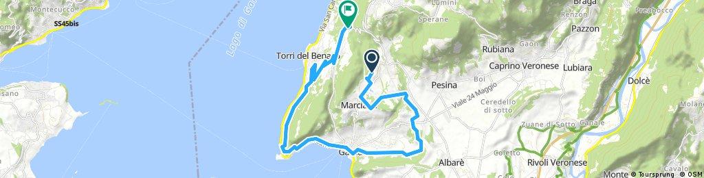 Radrunde durch Torri del Benaco