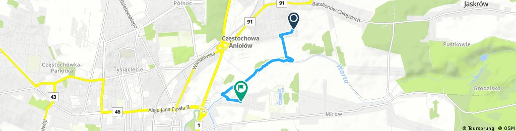 Quick ride through Częstochowa