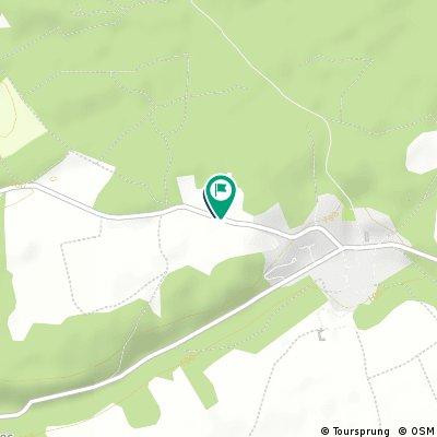 Quick bike tour through Poligny