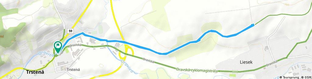 Short ride through Trstená