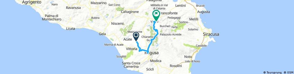 Vizzini Comiso Ragusa Monterosso Vizzini