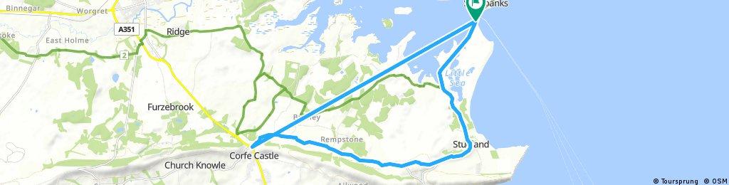 Ride To Corfe Castle