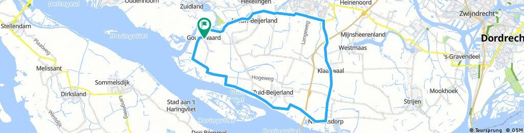 Lengthy ride through Korendijk