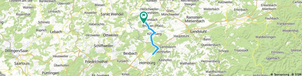 Homburg - Radsport - Schröder. Leider schon zu.