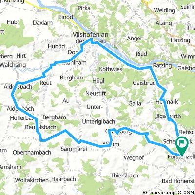 Fürstenzell-Vilshofen-Aldersbach-Fürstenzell